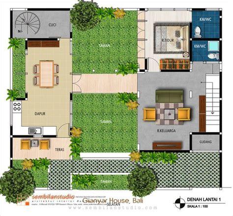 layout rumah type 54 buat pasangan muda yang masih berjuang 10 desain rumah