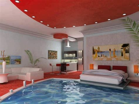 bedroom swimming pool swimming pool bedroom beds pinterest