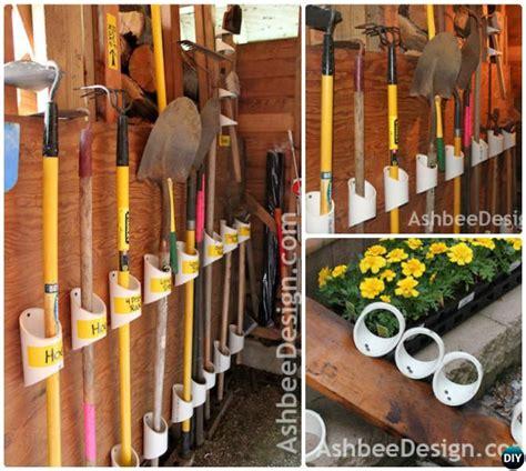 Garden Tool Storage Ideas Garage Organization And Storage Diy Ideas Projects