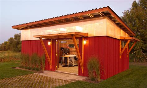 diy shed modern exterior minneapolis   valdes