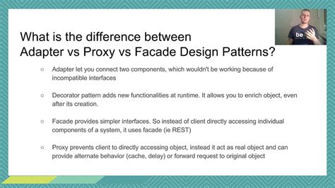 patterns in java by mark grand java interview design patterns differences youtube