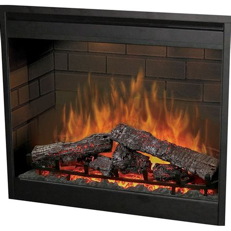 dimplex 3015 purifire electric fireplace insert brick