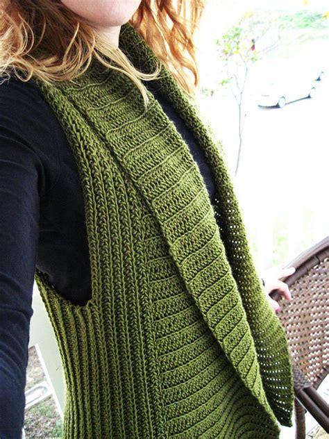 etsy vest pattern belinda vest a crochet pattern