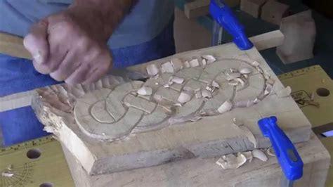 cenefas celtas talla de una trenza celta