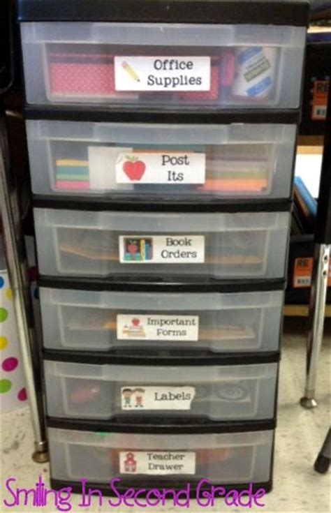 138 Best Desk Organization Images On Pinterest Teacher Classroom Desk Organization