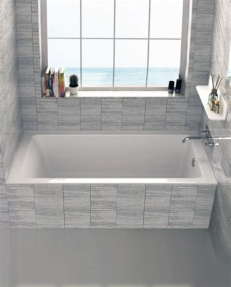 what is a drop in bathtub fine fixtures drop in or alcove 32 quot x 60 quot soaking bathtub