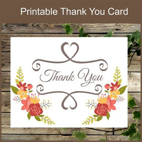 printable thank you cards uk pinterest the world s catalogue of ideas