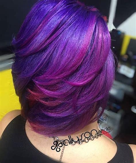 weave hairstyles with purple tips 4190 besten hair styles color bilder auf pinterest