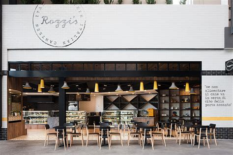 interior design cafe melbourne rozzi s italian canteen by mim design melbourne