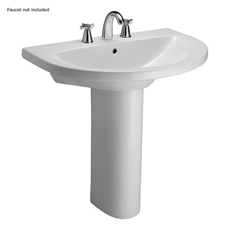 lowes bathroom pedestal sinks lowes pedestal in h jumeirah white vitreous