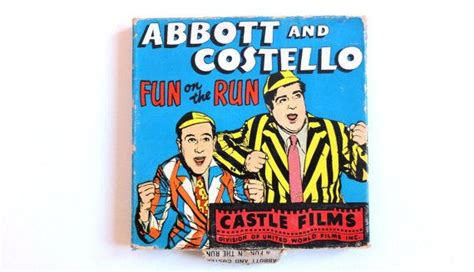 film comedy something on the run 1949 8mm movie castle films abbott and costello quot fun on