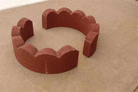 50 pit using concrete tree rings