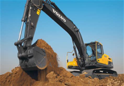 volvo rents shreveport diggers mechanical shovels trackhoes for rent sale