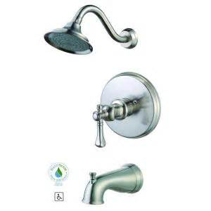 pegasus verdanza single handle 1 spary tub and shower