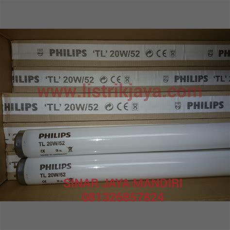 Lu Philips 52 Watt jual lu blue light philips tl 20w 52 lu terapi bayi