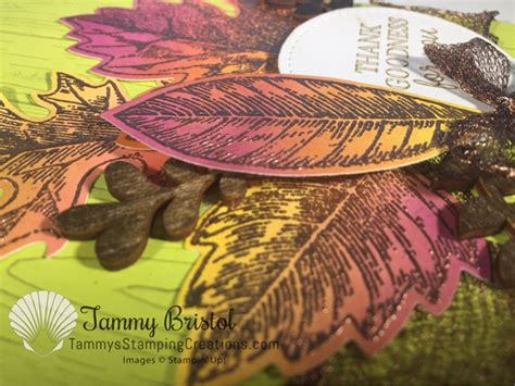 fall    air vintage leaves tammys stamping