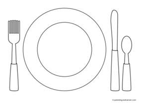 Plate Coloring Page Favorite Foods Coloring Pages Hubpages by Plate Coloring Page