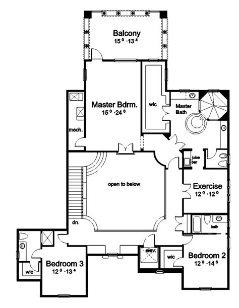 plan 16320md outdoor atrium house plans rec rooms and home mediterranean style house plan 5 beds 6 baths 5552 sq ft