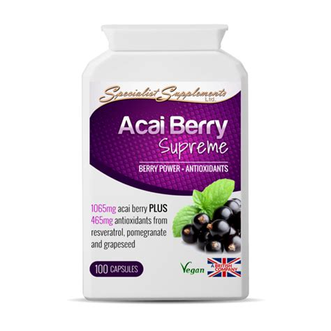 acai berry supreme acai berry supreme health supplements