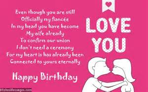 birthday poems for fiancee wishesmessages com