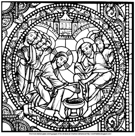 coloring pages jesus washes his disciples jesus washes the of his disciples color the bible