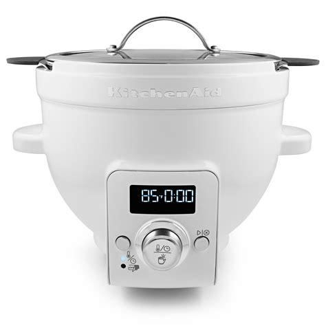 heated bowl kitchen stand mixer heated bowl attachment yogurt bread dough soup chocolate new