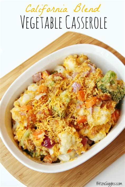 vegetables c 94 seconds california blend vegetable casserole recipe butter