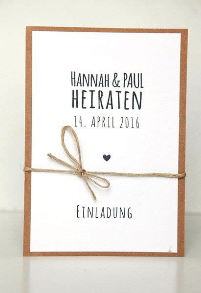Einladung Zur Trauung by Die Besten 25 Ideen Zu Einladungen Auf