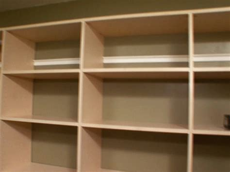 pdf diy how to build wood shelves in a closet