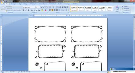 Etiketten Uit Excel Naar Word by Doe Het Zelf Etiketten Maken Nouk San