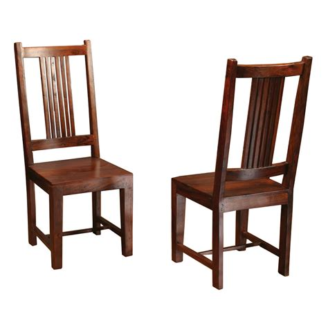 Wood Dining Chairs Unfinished Solid Wood Dining Chairs Home Furniture Design