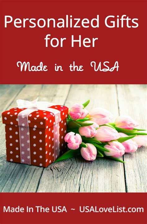 american made personalized gifts for her usa love list