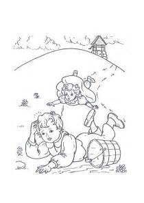 color rhymes nursery rhymes coloring pages coloring