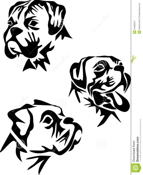 dog silhouette tattoo boxer silhouette clipart clipground