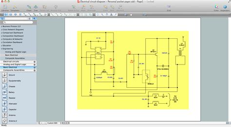 software for creating diagrams electrical diagram software create an electrical diagram