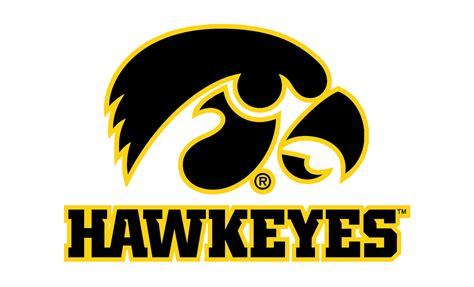 of iowa colors iowa hawkeyes logo iowa hawkeyes symbol meaning history
