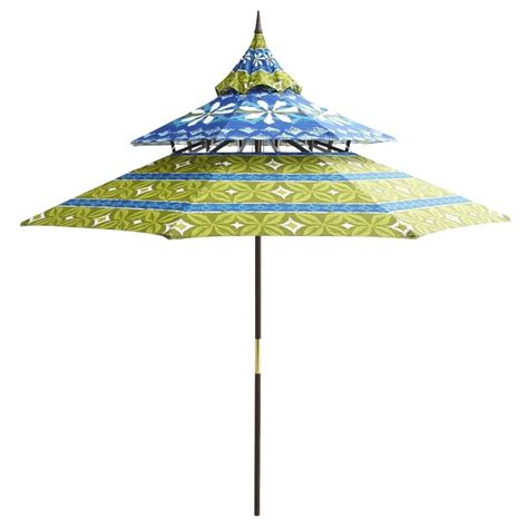 pier one patio umbrellas best outdoor patio umbrellas a twist on the expected