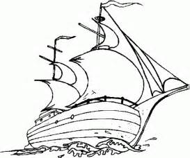 mayflower coloring page free the mayflower coloring pages