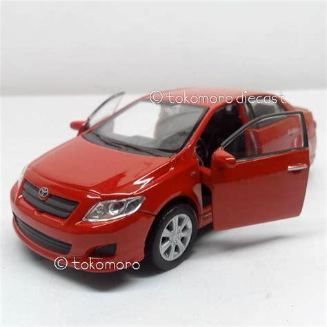 Miniatur Mobil Civic Merah Terlaris jual diecast miniatur mobil sedan 2009 toyota corolla warna merah tokomoro
