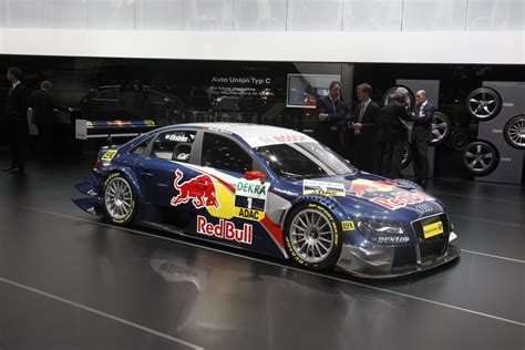 Red Bull Aufkleber Set Tuning by Geneva 2008 The New Audi A4 Dtm
