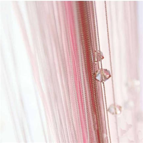 beaded string curtains pink beaded string curtain