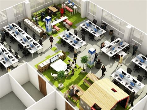 layout work space agile working exles workplace pinterest office