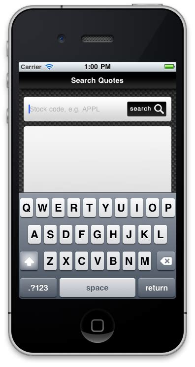 mobile stock quotes make a stock quote app search stock data with yql