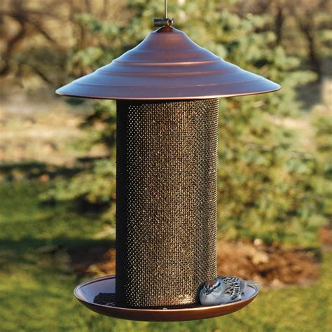 shop woodlink metal tube bird feeder at lowescom