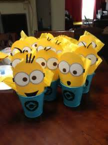 Minion Favors Ideas by Despicable Me Minions Favors Filled With For The Ones Blue Distressed Metal