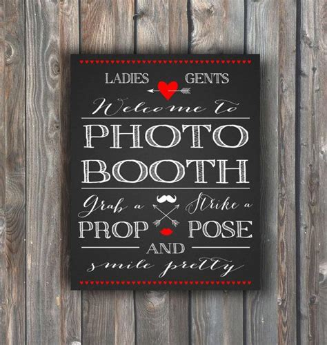 diy chalkboard photo booth prop photo booth sign valentines day photo booth sing