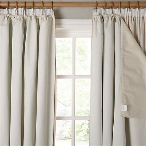 john lewis curtains blackout buy john lewis pencil pleat blackout curtain linings