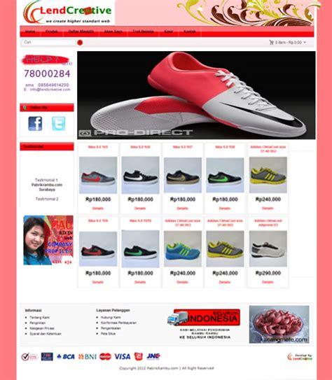 template toko online gratis untuk website template toko online gratis pembuatan website toko online