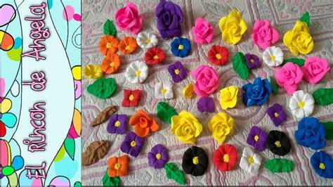 diy como hacer hojas realistas de goma eva para flores diy foami o goma eva moldeable como hacer flores y hojas