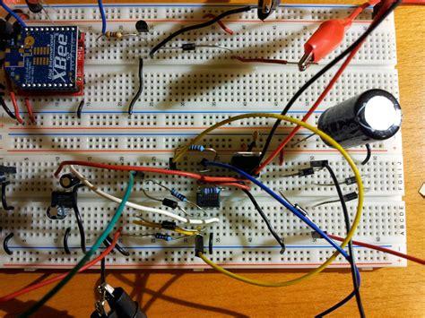 breadboard circuit of half wave rectifier op precise wave rectification electrical engineering stack exchange